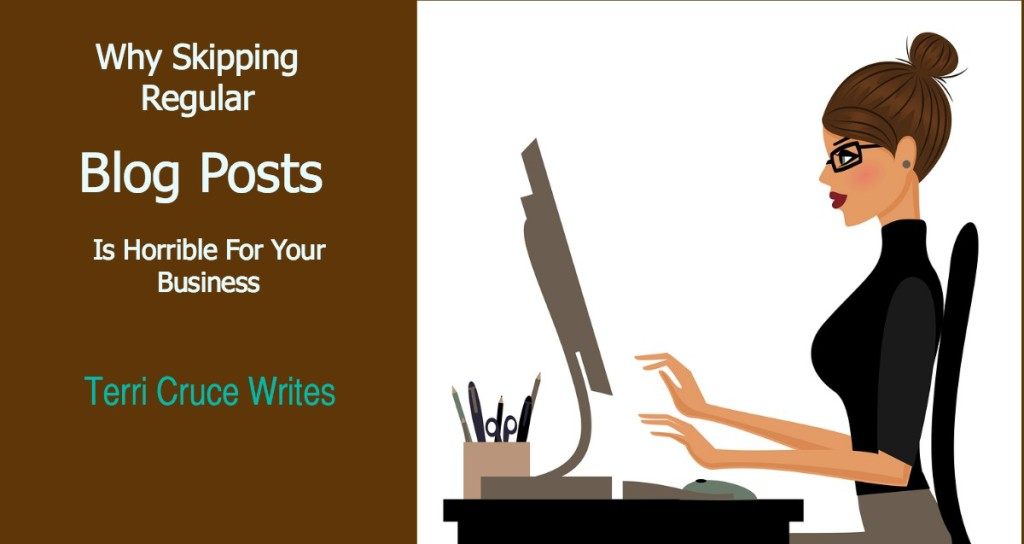 skipping blog posts horrible for business